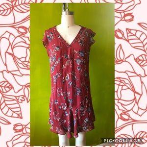 Joie Almarie B Tandori Print Silk Blend Dress